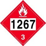 Placard 1267 Crude Oil