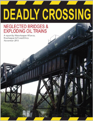 Investigative Report: DEADLY CROSSING: Neglected Bridges & Exploding Oil Trains