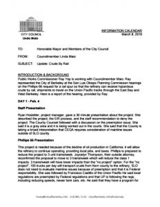 Berkeley report on SLO hearings