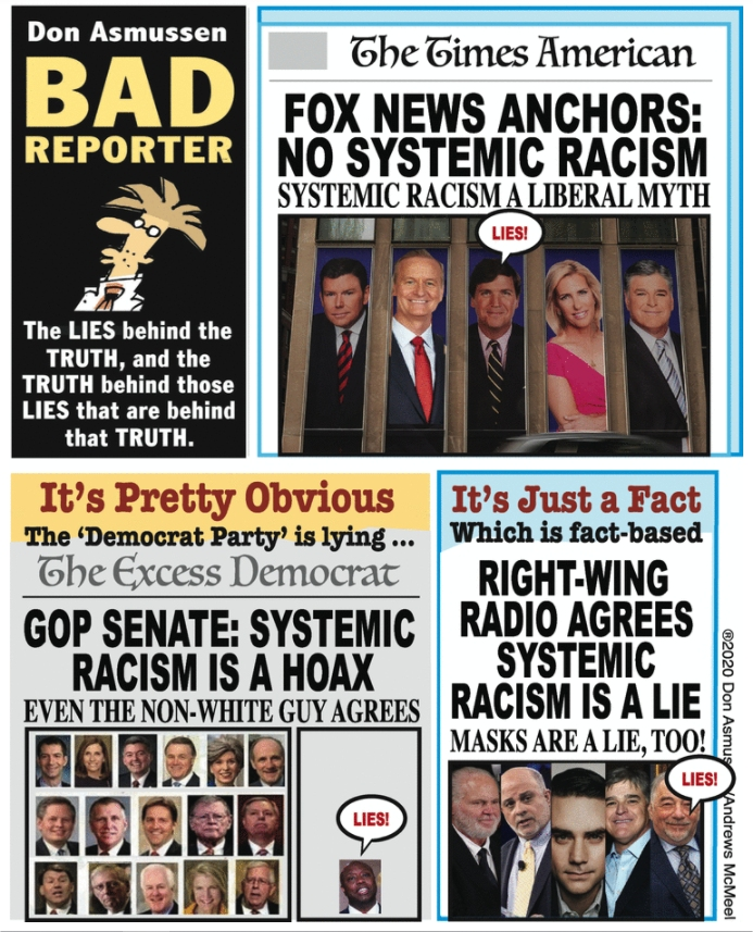 Fox News Right Wing Radio Gop Senate No Systemic Racism The Benicia Independent Eyes On The Environment Benicia News Views